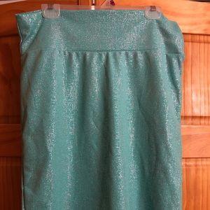 LulaRoe knit skirt